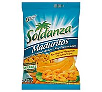 Soldanza Maduritos Plantain Chips No Added Sugar - 2.5 Oz