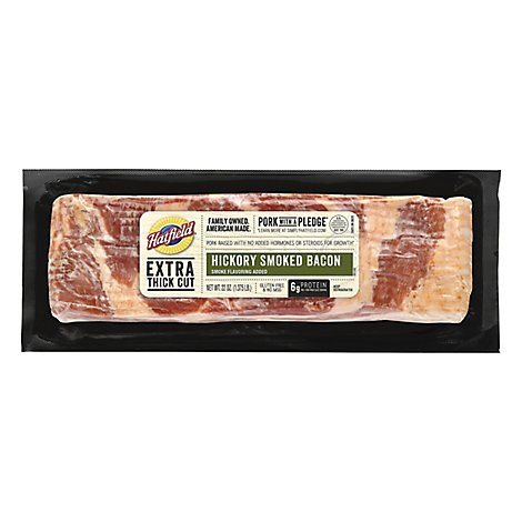 Hatfield Bacon Hickory Stack Pack - 22 Oz