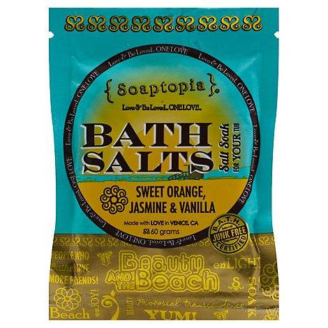 Soaptopia Salt Soak Beauty - 60 Gram