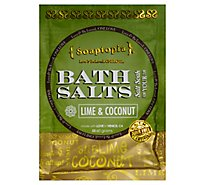 Soaptopia Salt Soak Lime Coconut - 60 Gram