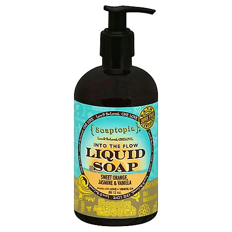 Soaptopia Beauty And The Beast Liquid Soap - 12 Oz
