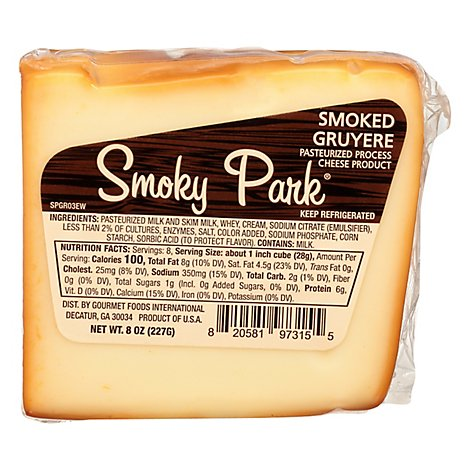 Smoked Gruyere Cheese Ew - 8 Oz
