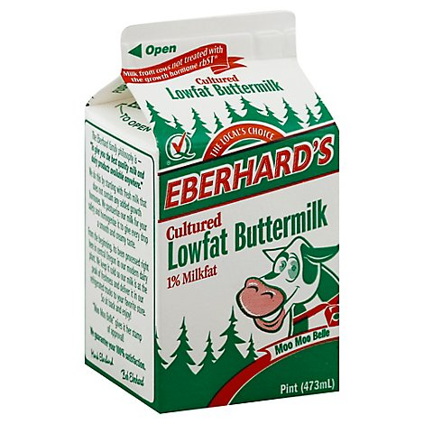 Eberhards Buttermilk - 1 Pint