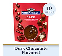 Ghirardelli Chocolate Melting Wafers Candy Making & Dipping Dark - 10 Oz