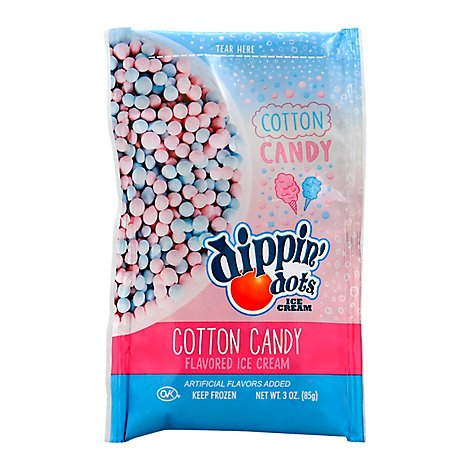 Dippin Dots Cotton Candy - 3 Oz