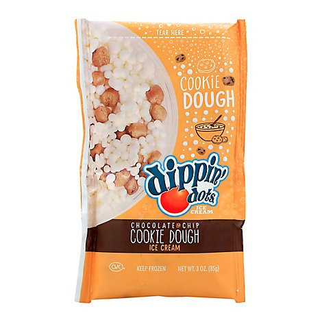 Dippin Dots Chocolate Chip Cookie Dough - 3 Oz