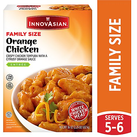 Innovasian Orange Family Size Chicken Breast - 36 Oz