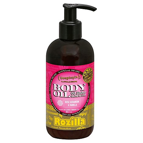 Soaptopia Oil Slather Rozilla - 8 Oz