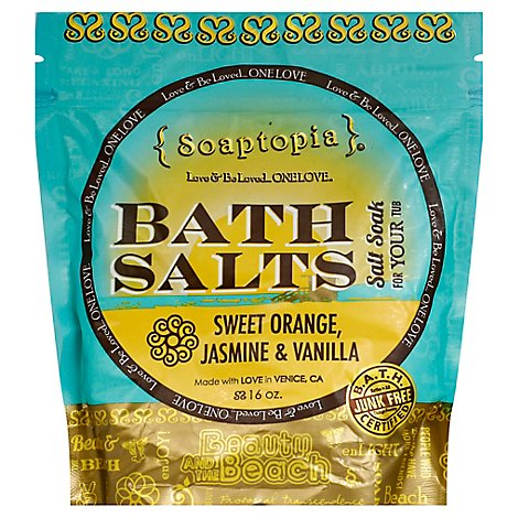 Soaptopia Salt Soak Beauty - 16 Oz