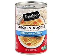 Signature SELECT/Kitchens Soup Condensed Chicken Noodle 98% Fat Free - 10.5 Oz