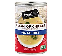Signature SELECT/Kitchens Soup Condensed 98% Fat Free Cream Of Chicken - 10.5 Oz