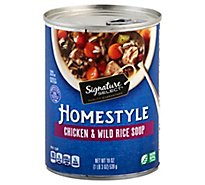 Signature SELECT Soup Homestyle Chicken & Wild Rice - 19 Oz