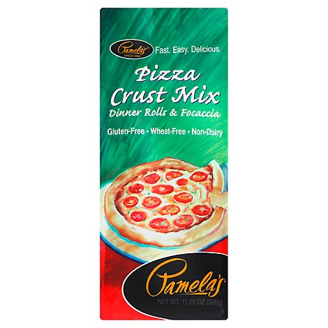Pamelas Pizza Crust Mix - 11.29 Oz