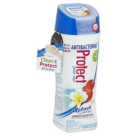 Refresh Protect Wipes Hawaaiin Sunrise S - 25 Count