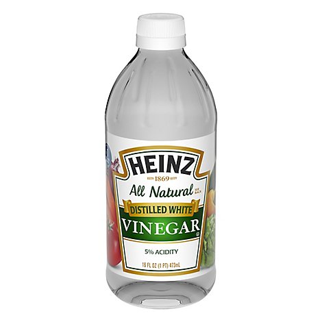 Heinz Vinegar Distilled White - 16 Fl. Oz.