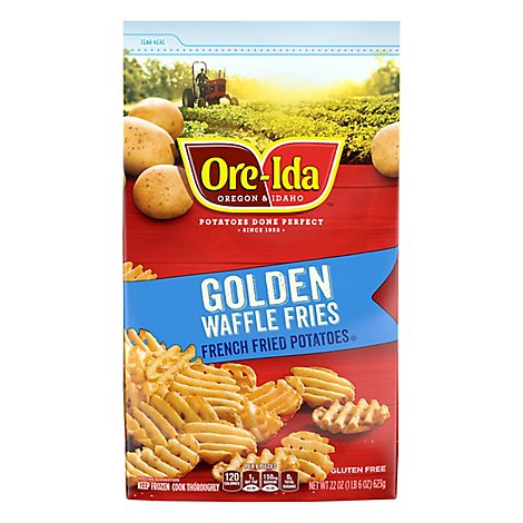 Ore-Ida Potatoes French Fried Golden Waffle - 22 Oz