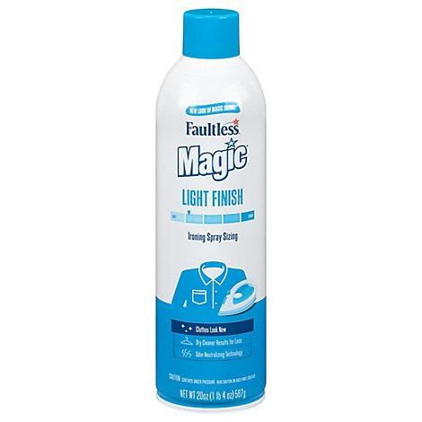 Magic Sizing Ironing Spray Light Body - 20 Oz