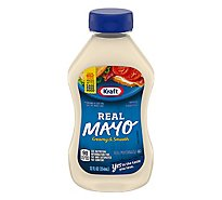 Kraft Real Mayo Squeeze Bottle - 12 Fl. Oz.