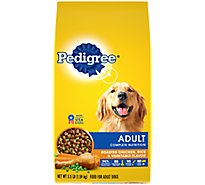 Pedigree Dog Food Dry For Adult Complete Nutrition Roasted Chicken Rice & Vegetable - 3.5 Lb