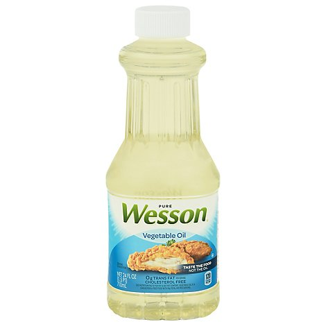 Wesson Vegetable Oil - 24 Fl. Oz.