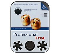 T Fal 12cup Muffin Pan 14x11 - 1 Each