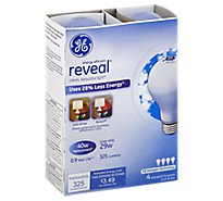 GE Energy-Efficient Reveal 29 Watt A19 4-Pack - 4 Count
