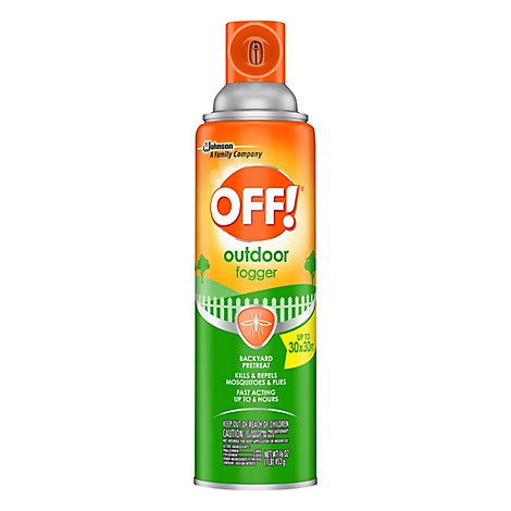 OFF! Outdoor Fogger Backyard Pretreat - 16 Oz