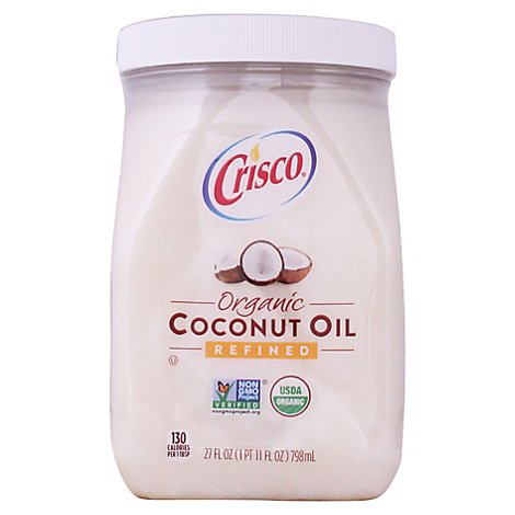 Crisco Coconut Oil Organic Pure - 27 Fl. Oz.