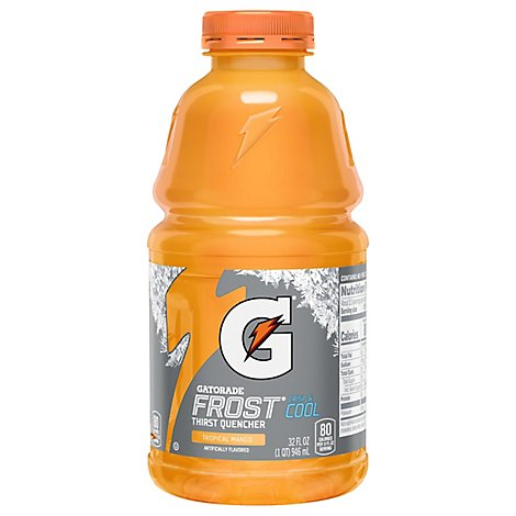 Gatorade G Series Thirst Quencher Perform Frost Tropical Mango - 32 Fl. Oz.