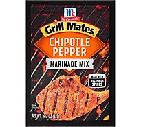 McCormick Grill Mates Marinade Mix Chipotle Pepper - 1.13 Oz
