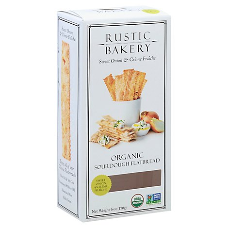 Rustic Bakery Sweet Onion Flatbread - 6 Oz