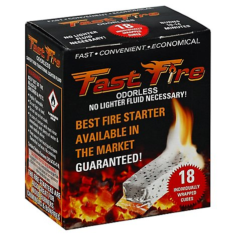 Fast Fire Starter 18pk - 18 Count
