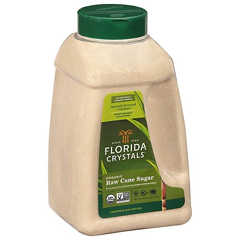 Florida Crystals Organic Cane Sugar - 48 Oz