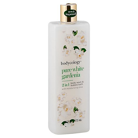 Bodycology Body Wash White Gardenia 16oz - 16 Oz