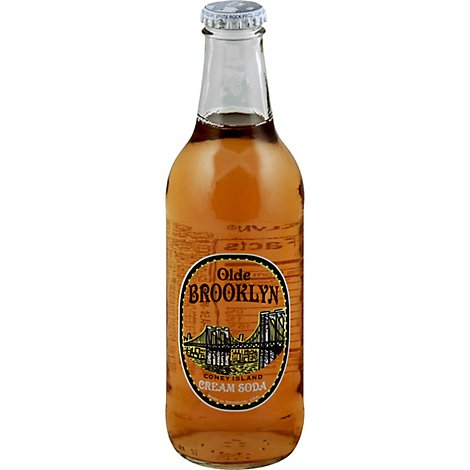 Olde Brooklyn Cream Soda - 12 Fl. Oz.