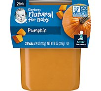 Gerber 2nd Foods Pumpkin - 2-4 Oz