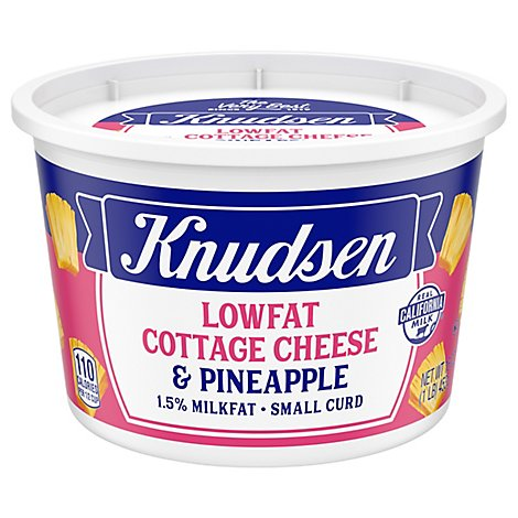 Knudsen Cottage Cheese Pineapple - 1 Lb