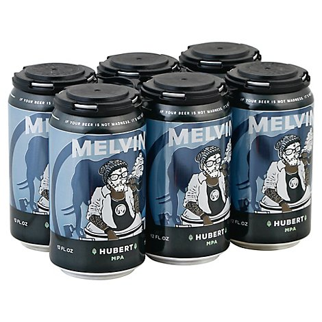 Melvin Hubert Ipa In Cans - 6-12 Fl. Oz.