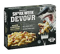 Devour Frozen Meals Mac & Cheese White Cheddar With Bacon - 12 Oz
