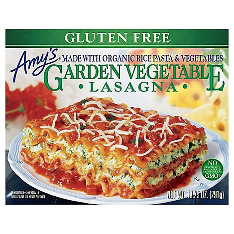 Amys Pasta Gluten Free Garden Vegetable Lasagna - 10.3 Oz
