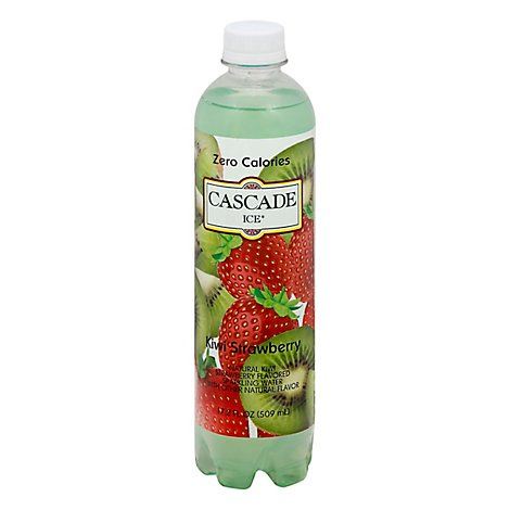 Cascade Ice Sparkling Water Kiwi Strawberry - 17.2 Fl. Oz.