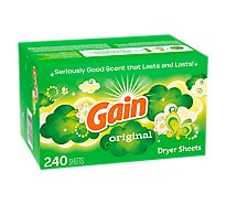 Gain Dryer Sheets Original - 240 Count