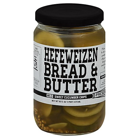 Preservation & co. Chips Cucumber Sweet Mild Hefeweizen Bread & Butter - 16 Fl. Oz.