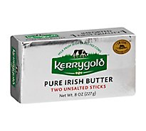 Kerrygold Butter Pure Irish Two Sticks Unsalted - 8 Oz