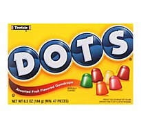 Dots Gumdrops Assorted Fruit Flavored - 6.5 Oz