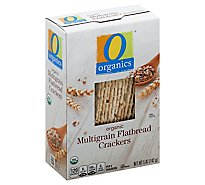 O Organics Crackers Organic Flatbread Multigrain - 5 Oz