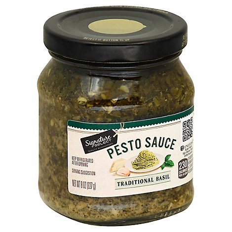 Signature Select Pesto Sauce Traditional Basil 8 Oz Safeway