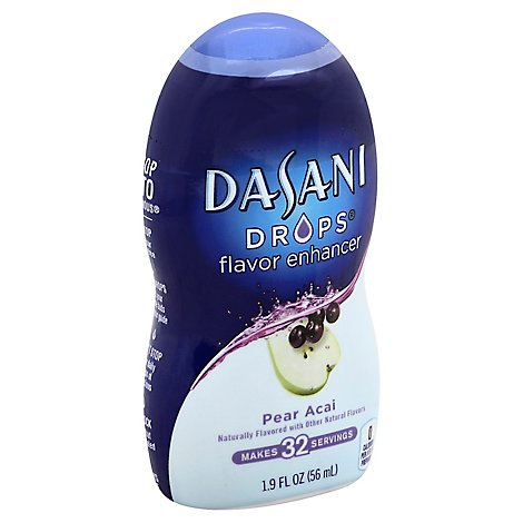 DASANI Drops Water Enhancer Pear Acai - 1.9 Fl. Oz.