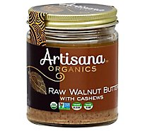Artisana Organics Nut Butter with Cashews Raw Walnut - 8 Oz