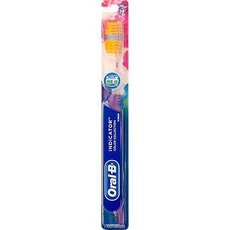 Oral-B Indicator Color Collection Toothbrush Medium - Each